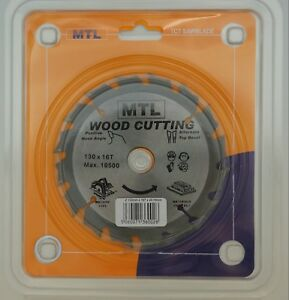 130mm-dia-x-16T-x-16mm-bore-20mm-bush-MTL-brand-TCT-Circular-Saw-Blade-for-Wood