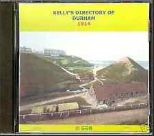 Directory di genealogia di Durham 1914 CD ROM