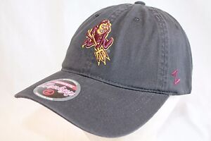 official photos 98617 36f11 Image is loading Arizona-State-Sun-Devils-Hat-Cap-034-Black-