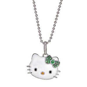 Kimora lee simmons hello kitty necklace in gold 925 sterling image is loading kimora lee simmons hello kitty necklace in gold aloadofball Gallery