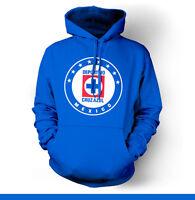 Cruz Azul Mexico Hooded Sweatshirt Hoodie Hoody Sudadera Maquina Liga Mx