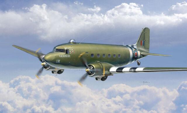 Dakota Mk.III Aircraft Plastic Kit 1:72 Model 1338 ITALERI