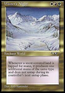 MTG-Magic-Alliances-Winter-039-s-Night-Rare-VO