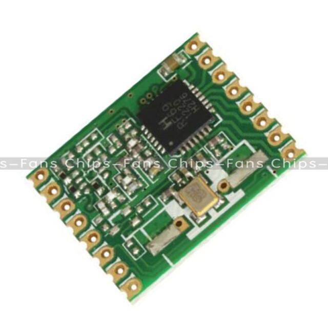 RFM69W Wireless Transceiver 915Mhz - (HopeRF - RFM69W-915S2) NEW
