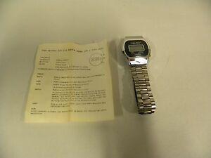 Vintage-Delphi-Quartz-Digital-Men-039-s-Watch-Wristwatch-A5