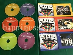 The-Beatles-Magical-Mystery-Tour-Recording-Sessions-Chronology-6-CD-Japan-F-S