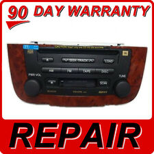 REPAIR SERVICE ONLY Toyota Highlander 6 Disc Changer CD Player Navigation GPS