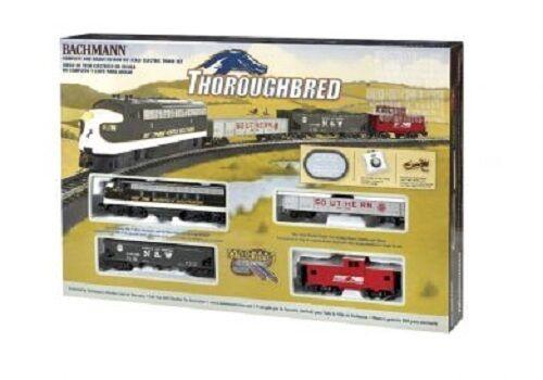 Bachmann Ho Thoroughbrosso Diesel Train Set 691 Nib Bachman H-O