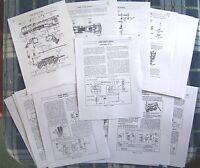 Lionel 1950-66 736 2-8-4 Berkshire Locomotive/2671w/2046w/736w Service Manual