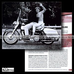 #cmp.024 Harley-davidson 1200 Electra Glide 1965 Fiche Moto Tkbunalj-07224857-568339192