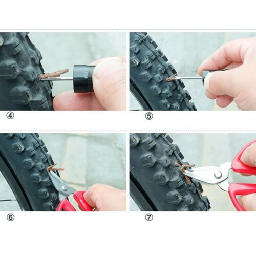 Details about  /1X Tubeless Bike Tire Repair Kit for MTB and Road Bicycle Tires Fix a Punc K7E0