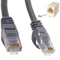 1M - 3M RJ45 CAT6 Network Cable Ethernet Patch Gigabit Cat 6 Lead UTP CCA Lot