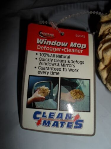 CLEAN MATES CAR WINDOW MOP DEFOGGER CLEANER NEW