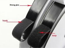 Double Adhesive Hook and Loop Self Sticky Back Glue Tape Ties Band Wholesale Lot