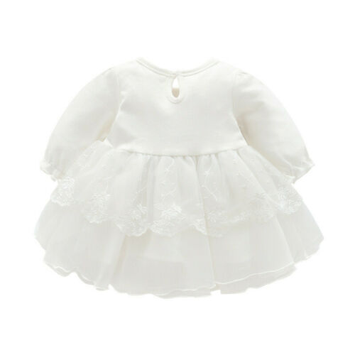 Toddler Infant Baby Girls Kids Party Lace Tutu Princess Dresses Clothes Outfits