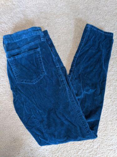 Edyson Hampton Skinny Cords Corduroy Blue Pants Si