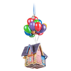 DISNEY SKETCHBOOK UP HOUSE CHRISTMAS TREE DECORATION ORNAMENT NEW BALLOONS - Ilford, United Kingdom - DISNEY SKETCHBOOK UP HOUSE CHRISTMAS TREE DECORATION ORNAMENT NEW BALLOONS - Ilford, United Kingdom