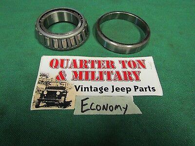 Jeep Willys MB GPW CJ2A 3A M38 M38A1 wheel bearing set ECONOMY