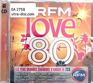 Compilation-2xCD-RFM-Love-80-Les-Plus-Grandes-Chansons-D-039-Amour-en-2CD-France