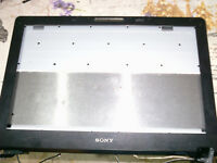 Sony Vaio LCD Display Bezel VGN-AR88L + 17.1 Inch Laptop LCD Back Case