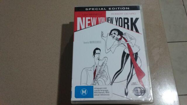 New York, New York DVD  2 disc edition!   Robert DeNiro  Liza Minnelli  RARE