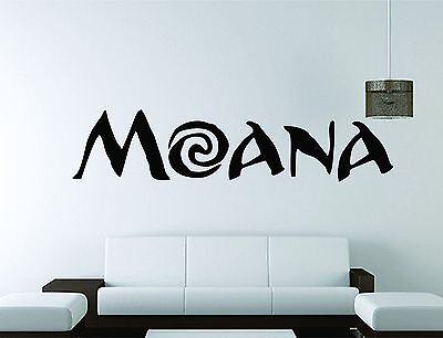 Vinyl Moana Wall Decal For Girls Room Decoration Wall Decals Home Decor Sticker Kids Bedroom Decor Moana Wall Sticker Hy956 Wall Stickers Aliexpress