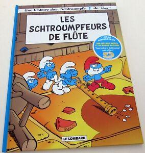 SCHTROUMPFS-PEYO-LES-SCHTROUMPFEURS-DE-FLUTES-LOMBARD-2008-HORS-COMMERCE-NEUF
