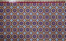 Corduroy Cotton Fabric Mandala Medallions BTHY