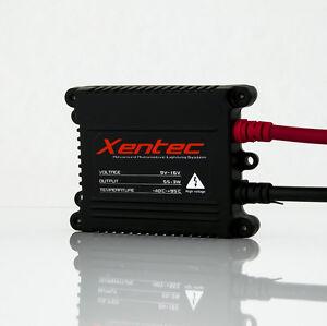 Xentec Super Slim 55 Watts H7 10000K Brilliant Blue HID Xenon Kit Low Beam