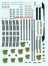 decals decalcomanie decalque divers deco simca 1000 rally 1 2 basty srt 1/43