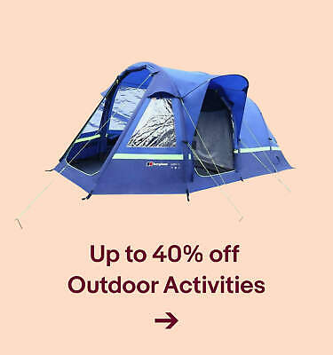 Up to 40% off  Outdoor Activities