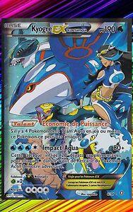Kyogre Ex X00 Double Danger 6 34 Carte Pokemon Neuve Francaise Ebay
