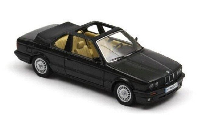 1 43 Neo Model BMW 3er 325i E30 nero 1986