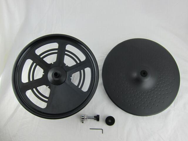 "Goedrum Electronic Hi-Hat Set GH7 / Electronic 2-Piece Hi Hat / 13"" HiHat Cymbal"