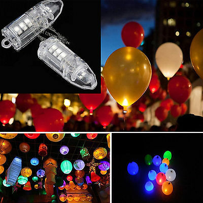 LED Bulbs For Paper Lantern Balloon Binking LED Lights Party Wedding XMAS Decor