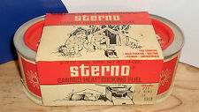 VINTAGE CAMPING Sterno 2-PACK Canned Heat WOOLCO Circa 1980's