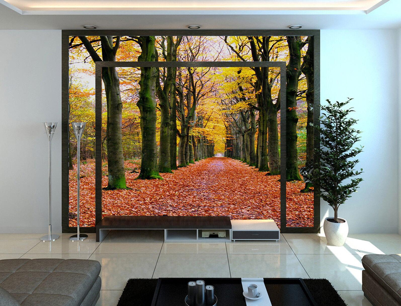 3D Herbst Fallende Blätter 85 Tapete Wandgemälde Tapete Tapeten Bild Familie DE