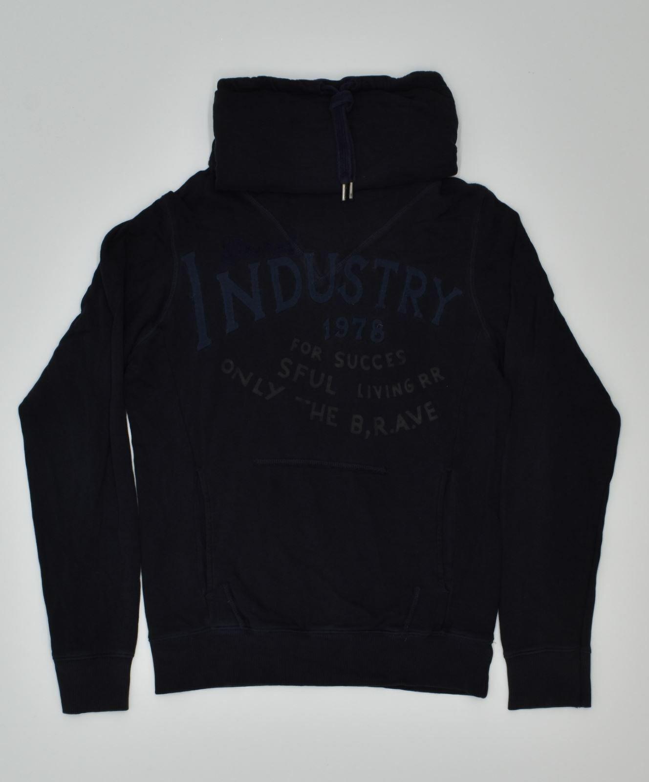 DIESEL Mens Sweatshirt Jumper Medium Navy Blue GN10