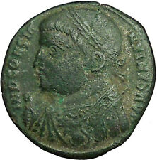 Constantine I The Great 317AD Ancient Roman Coin Nude Jupiter w Victory 34905