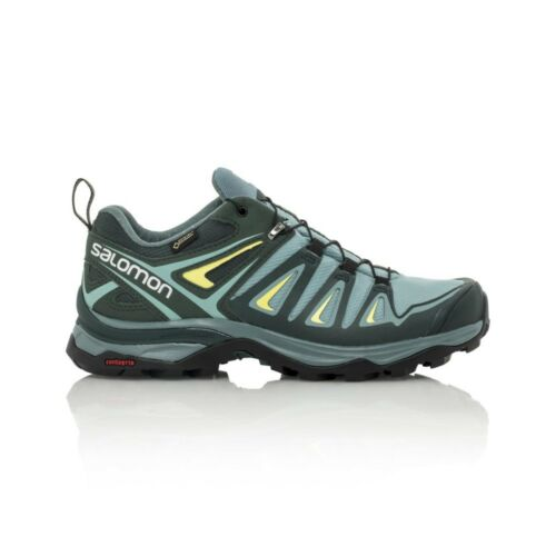 Salomon X Ultra 3 GTX Women's Hiking Shoe ArcticDarkest SpruceSulphur Spring