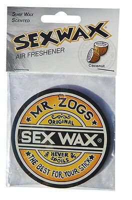 NEW  Sex Wax Car Air Fresheners  COCONUT Surf Scent - Van VW Camper