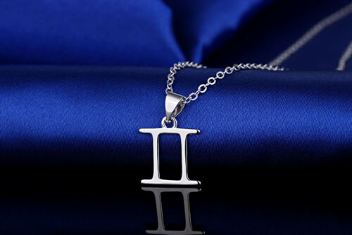 Silver tone zodiac Constellation sign pendant necklace,choices