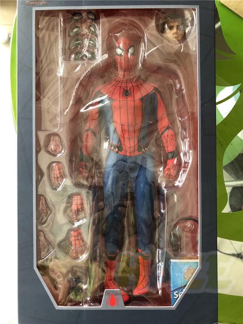 Spider-man Figura Juguete regreso a casa 1 6 Acción Figura Colección Juguete De Lujo Ver.