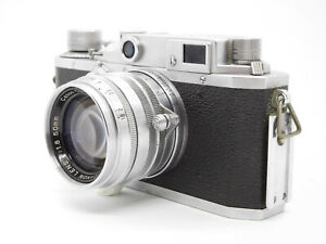 EXC-Canon-III-A-Rangefinder-Leica-Screw-mount-L39-w-50mm-f1-8-From-JAPAN