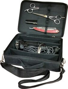 Portable Barber Tools Bag Salon Styling Clipper Comb Scissors Storage Case only