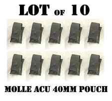ACU MOLLE US ARMY 40mm GRENADE M1 GARAND EN BLOC CLIP POUCH POCKET NEW SET of 10