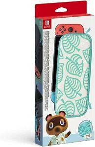 Caso-oficial-Nintendo-Switch-Protector-de-Pantalla-Animal-Crossing-New-Horizons
