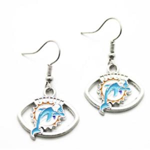 Miami Dolphin Earrings