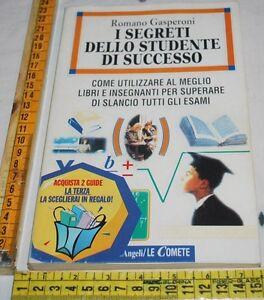 GASPERONI-I-SEGRETI-DELLO-STUDENTE-DI-SUCCESSO-FrancoAngeli-libri-usati