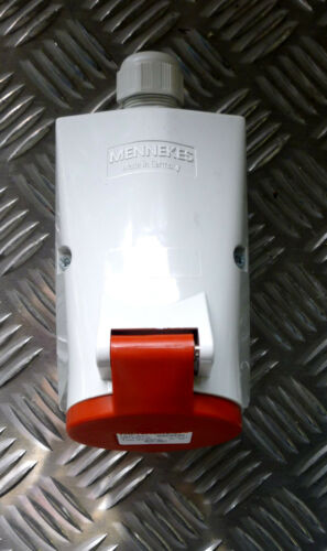 Mennekes Wanddose//-kupplung 16A-6h 3P230//400VTyp 20235A